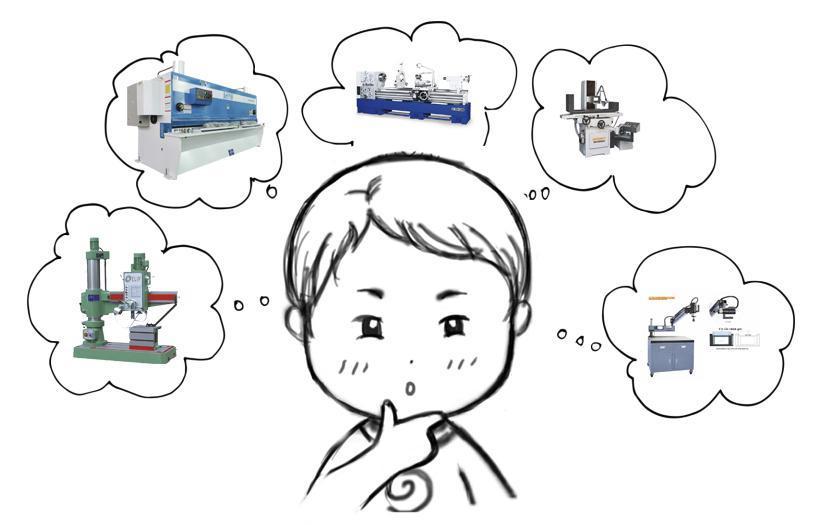 Cách chọn máy gia công