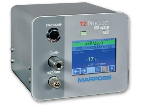 Thiết bị kiểm tra rò rỉ Provaset T2 Tecna Marposs
