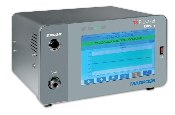 Thiết bị kiểm tra rò rỉ Provaset T3LP - Tecna Marposs