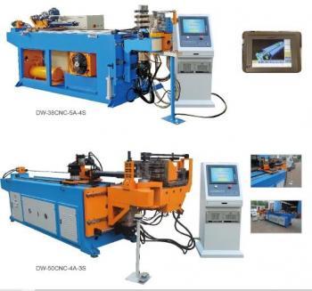 Máy uốn ống thủy lực CNC - CNC pipe bending machine