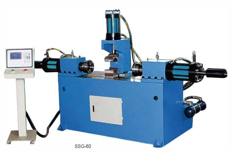 Máy tạo hình đầu ống hai đầu thủy lực