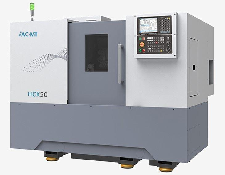 Máy tiện CNC Trung Quốc băng nghiêng HCK-50