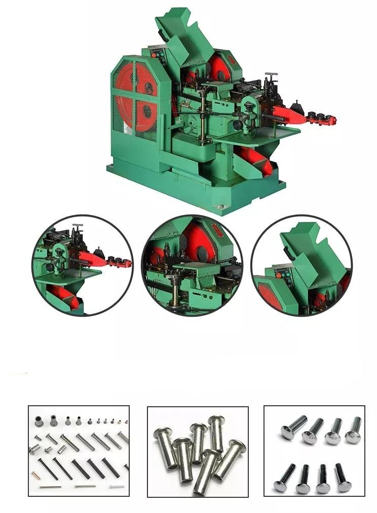 Máy sản xuất đinh tán rỗng - Máy dập đinh tán