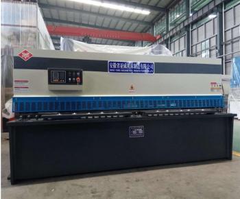 Máy cắt tôn thủy lực QC12K 4x3200mm | Cắt tôn dày 4mm